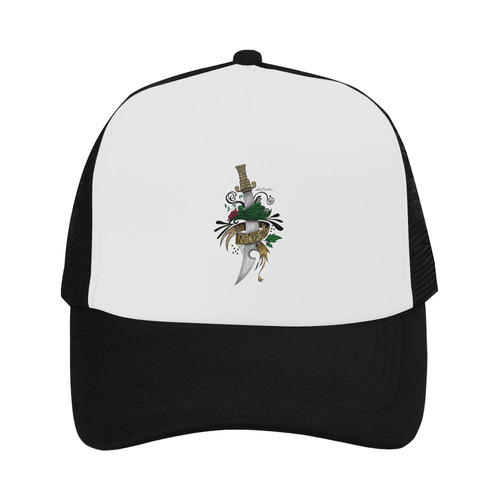 Symbolic Sword Trucker Hat