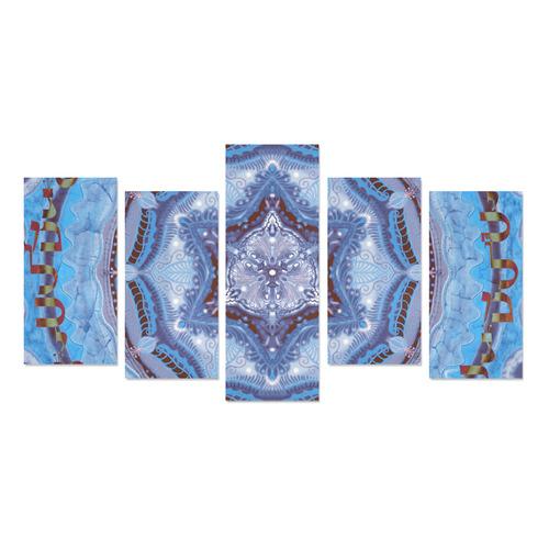 mandala maguen-15- alphabet Canvas Print Sets E (No Frame)