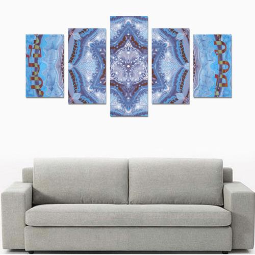 mandala maguen-15- alphabet Canvas Print Sets C (No Frame)