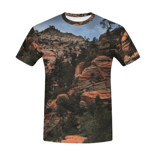 Zion All Over Print T-Shirt for Men (USA Size) (Model T40)