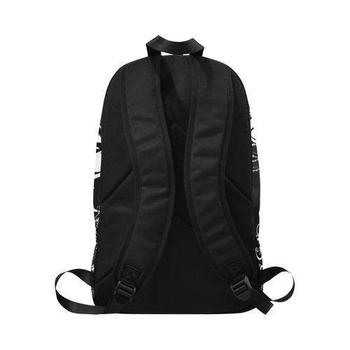 Zodiac - Gemini Fabric Backpack for Adult (Model 1659)