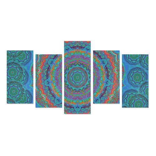juillet 15 Canvas Print Sets E (No Frame)