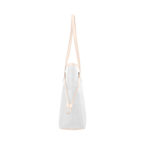 Zodiac - Gemini Clover Canvas Tote Bag (Model 1661)