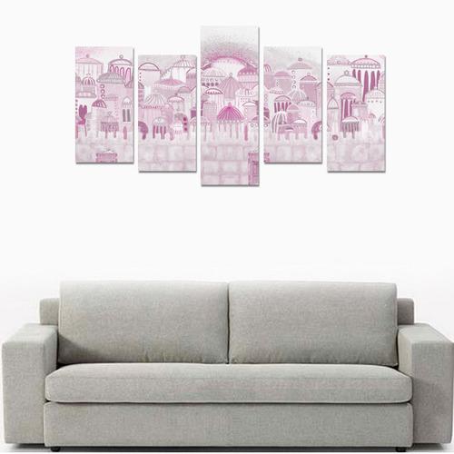 jerusalem collage 12 Canvas Print Sets E (No Frame)