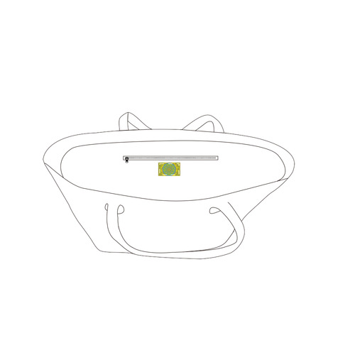 juillet 13 Private Brand Tag on Bags Inner (Zipper) (5cm X 3cm)