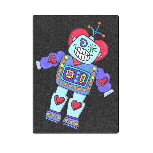 """Robotlove Blanket 58""""x80"""""""