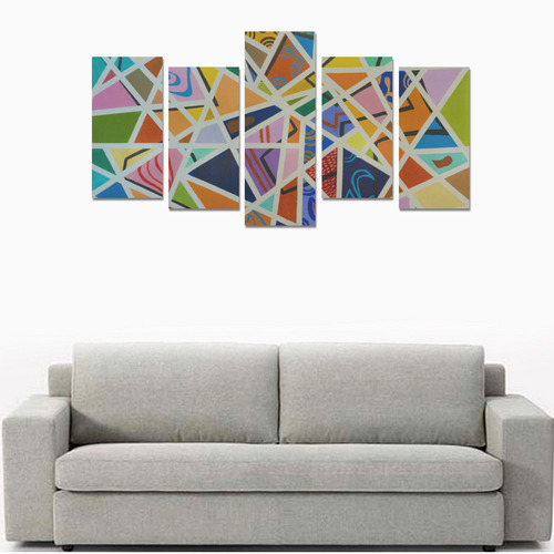 Broken Wall Series Canvas Print Sets E (No Frame)