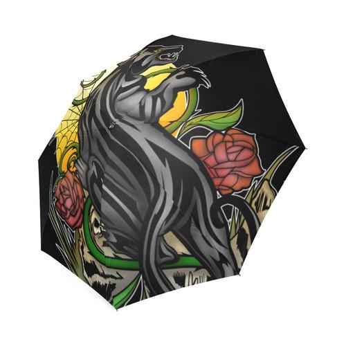 Panther Foldable Umbrella (Model U01)