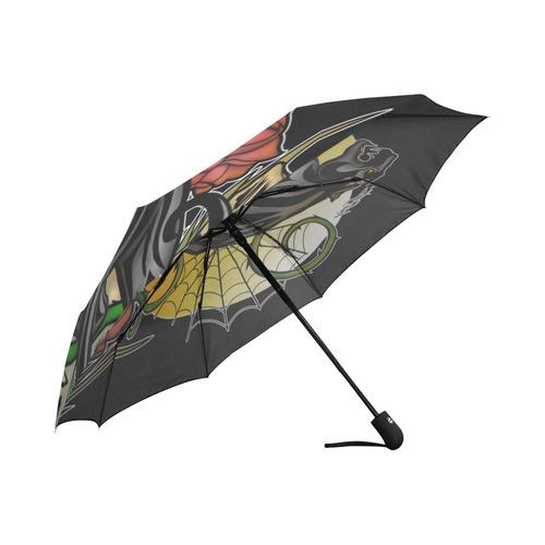 Panther Auto-Foldable Umbrella (Model U04)