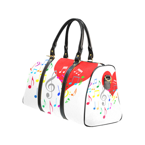 ... Singing Heart Red Song Color Music Love Romantic New Waterproof Travel  Bag Large (Model ... e77066c2bd8a1