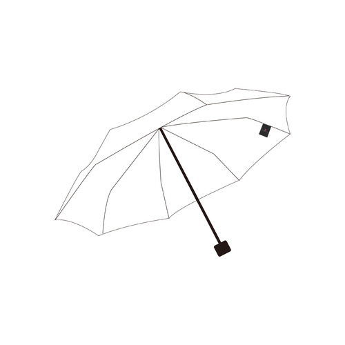LOGO - basic JR Private Brand Tag on Umbrella Ribs (3cm X 4cm)