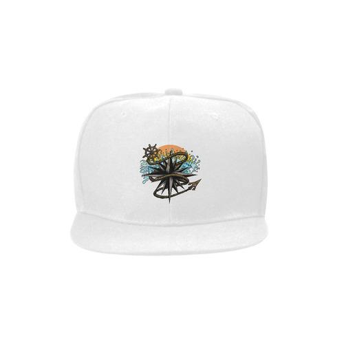 Nautical Splash Unisex Snapback Hat