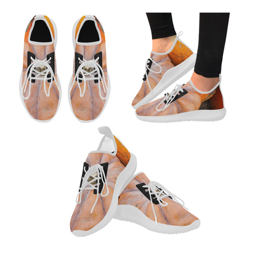 pumpkin halloween thanksgiving crop holiday cool dolphin ultra light running shoes for women model 035