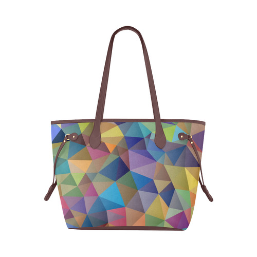 Unique Abstract Clover Canvas Tote Bag (Model 1661)