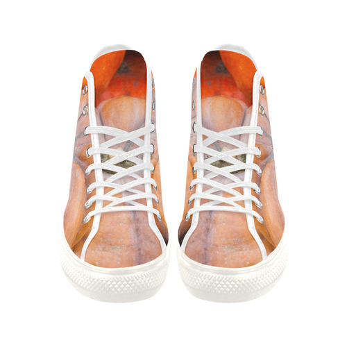 Pumpkin Halloween Thanksgiving Crop Holiday Cool Vancouver H Men's Canvas Shoes/Large (1013-1)