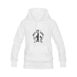 7433a36b5fb06c Fayah Fit Classic Did you Die Hoodie White Women s Classic Hoodies (Model  ...