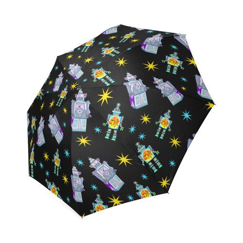 Robots! Foldable Umbrella (Model U01)