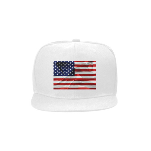 America Flag Banner Patriot Stars Stripes Freedom Unisex Snapback Hat