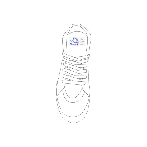 shoe logo Private Brand Tag on Shoes Tongue  (5cm X 3cm)