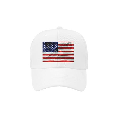 America Flag Banner Patriot Stars Stripes Freedom Dad Cap
