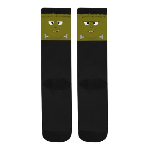 Cute Halloween Frankenstein Trouser Socks