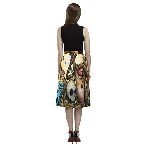 Anchored Aoede Crepe Skirt (Model D16)