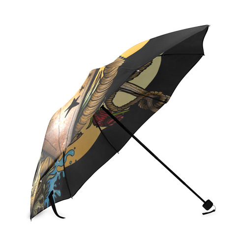 Anchored Foldable Umbrella (Model U01)