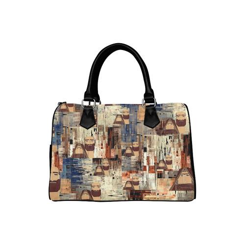 tatik-papik  տատիկ-պապիկ Boston Handbag (Model 1621)