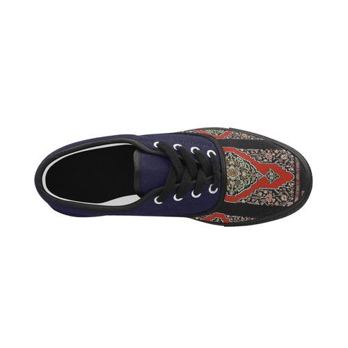 Armenian Folk Art Aries Men's Canvas Shoes (Model 029)