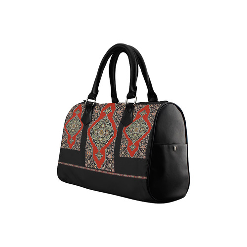 Ancient Armenian Boston Handbag (Model 1621)