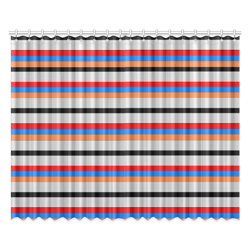 "Armenian Flag Window Curtain 52""x84""(Two Pieces)"