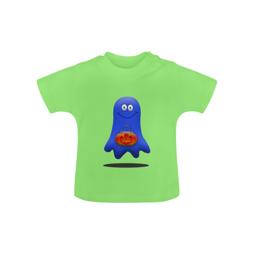 75faa3401 Halloween Boo Man Ghost Baby Classic T-Shirt (Model T30) | ID: D1952686