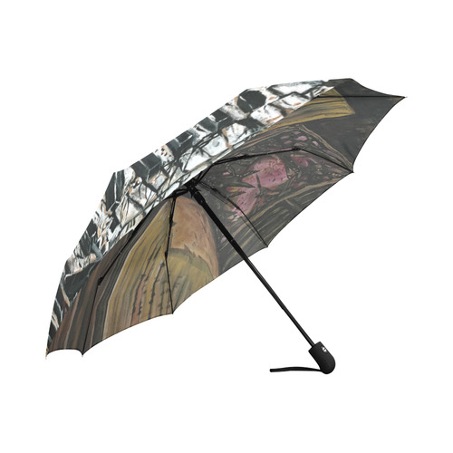 Broken Piano Auto-Foldable Umbrella (Model U04)