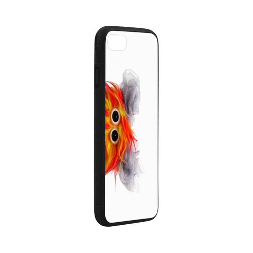 "Cluck Cluck Rubber Case for iPhone 8 (4.7"")"