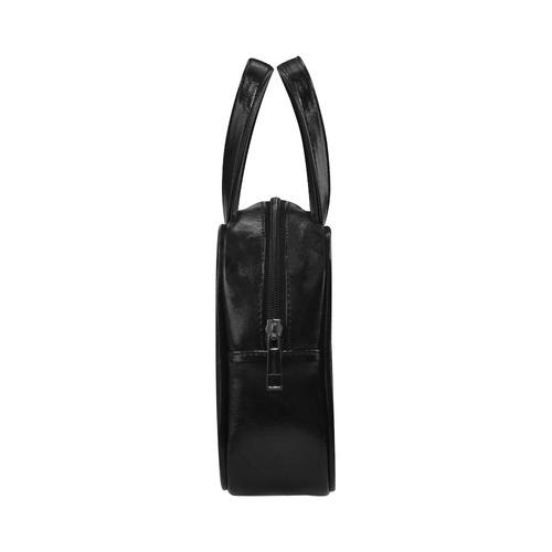 Mandala_20171002_by_JAMColors Leather Top Handle Handbag (Model 1662)