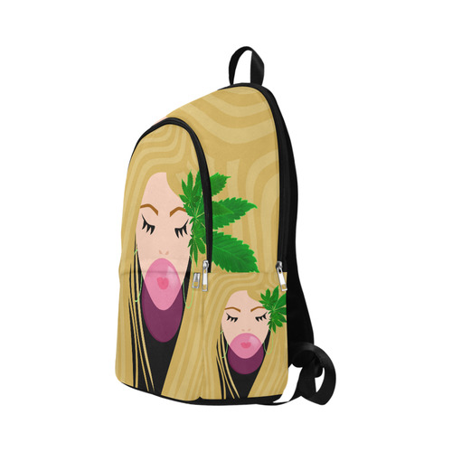 420 Girl Fabric Backpack for Adult (Model 1659)