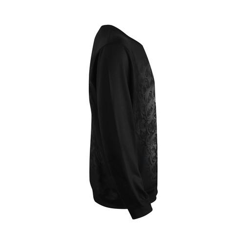 Gothic Cross All Over Print Crewneck Sweatshirt for Men (Model H18)