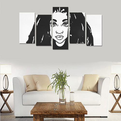 FOCSI_Locs2 Canvas Print Sets E (No Frame)
