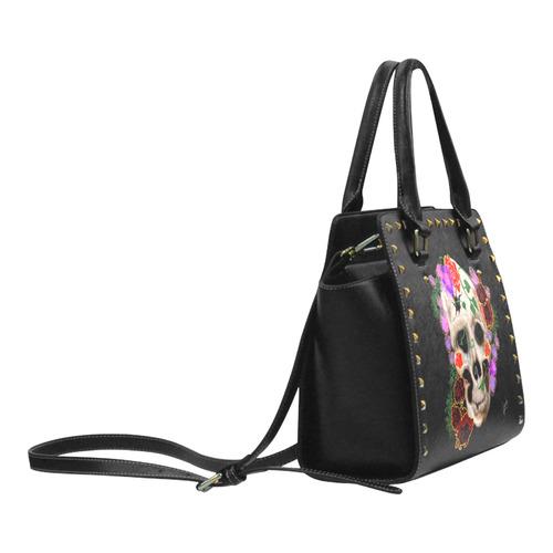 IMG_3283 Rivet Shoulder Handbag (Model 1645)