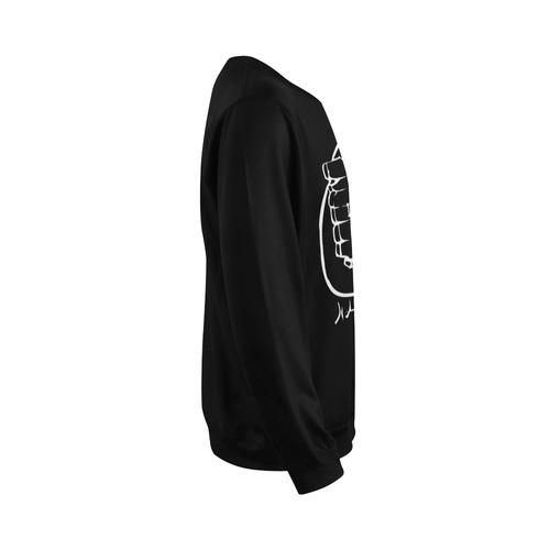 I haunt you! All Over Print Crewneck Sweatshirt for Men (Model H18)