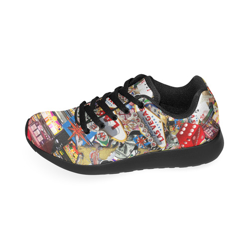 Las Vegas Icons - Gamblers Delight Women's Running Shoes (Model 020)