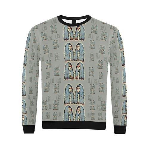 Rasta men is every where All Over Print Crewneck Sweatshirt for Men (Model H18)