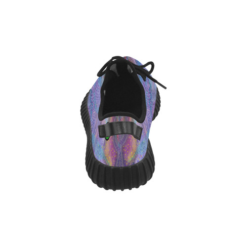 Brian Eno Music. Painted while listening to Brian Eno's music. Grus Women's Breathable Woven Running Shoes (Model 022)