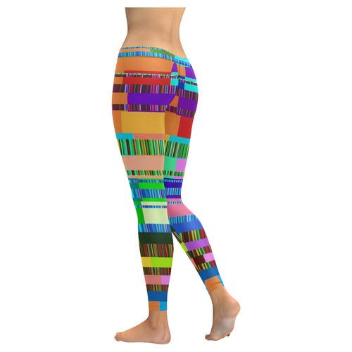 Error 2 by FeelGood New Low Rise Leggings (Flatlock Stitch) (Model L07)
