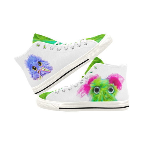Some Tongue with Salty BangBang & Twitchy Vancouver H Women's Canvas Shoes (1013-1)
