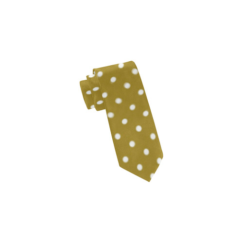 polkadots20160634 Classic Necktie (Two Sides)