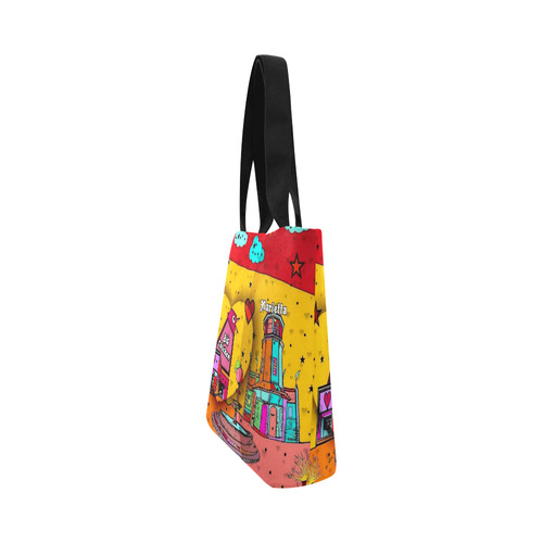 Marietta Popart 2018 by Nico Bielow Canvas Tote Bag (Model 1657)