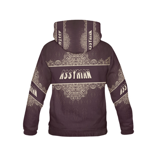 Assyrian Hoodie III All Over Print Hoodie for Men (USA Size) (Model H13)