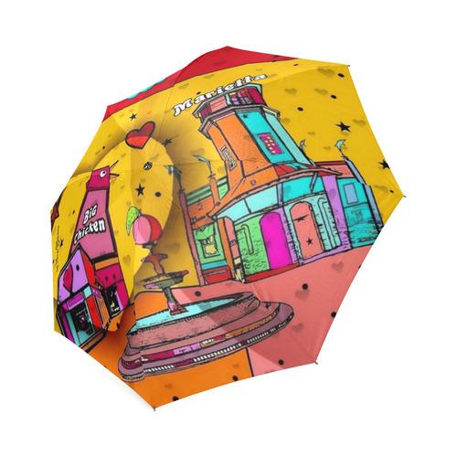 Marietta Popart 2018 by Nico Bielow Foldable Umbrella (Model U01)