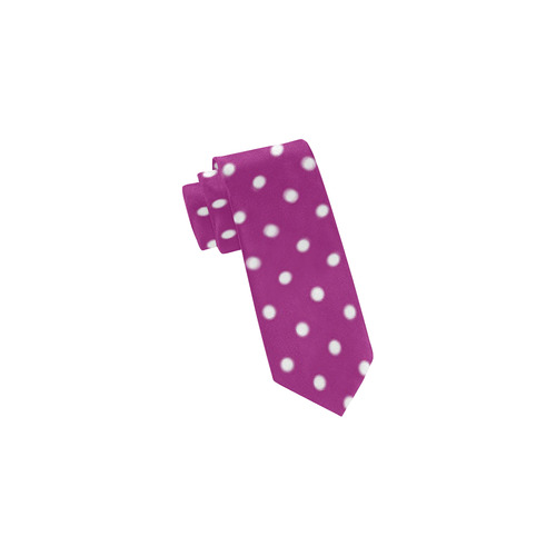 polkadots20160631 Classic Necktie (Two Sides)